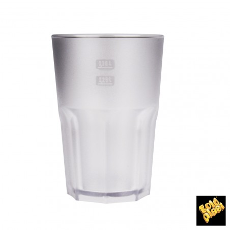 Bicchiere Plastica Cocktail Transp. PP Ø84mm 350ml (75 Pezzi)