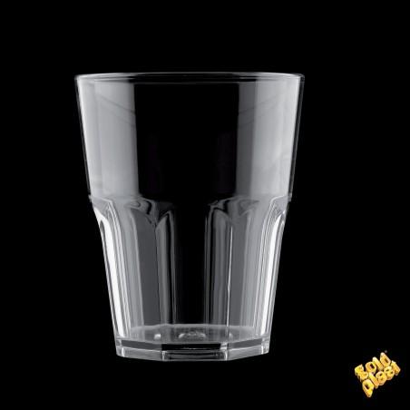 Bicchiere Plastica Trasparente SAN Ø85mm 400ml (8 Pezzi)