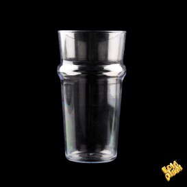 Bicchiere Plastica per Birra Trasp. SAN Ø85mm 568ml (1 Pezzi)