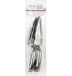 Mestolo di Plastica Metallo 300 mm (5 Pezzi)