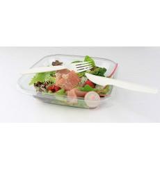 Forchetta Biodegradabile CPLA Bianco 160mm (50 Pezzi)