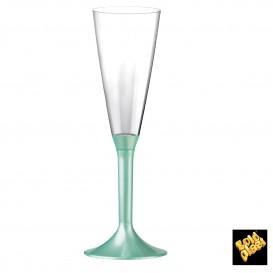 Calice Plastica Flute Gambo Tiffany Perlato 160ml 2P (200 Pezzi)