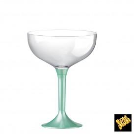 Coppa Plastica Champagne Tiffany Perlato 200ml 2P (20 Pezzi)