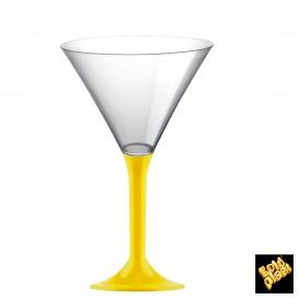 Coppa Plastica Cocktail Gambo Giallo 185ml 2P (200 Pezzi)