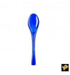 Cuchiaio di Plastica Fly Blu Transp. 145mm (50 Pezzi)