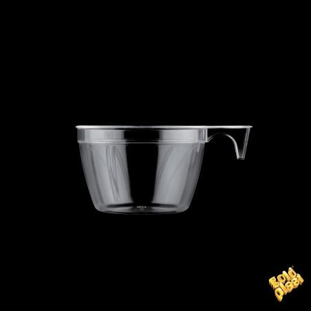 Tazze di Plastica Design Trasparente 190ml (50Pezzi)