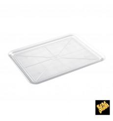 Vassoio Plastica Tray Trasparente 37x50cm (24 Pezzi)