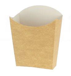 Scatola Kraft per Fritte Mediano 8,2x3,5x12,5cm (500 Pezzi)