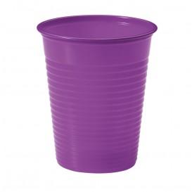 Bicchiere di Plastica Violeta PS 200ml (1500 Pezzi)