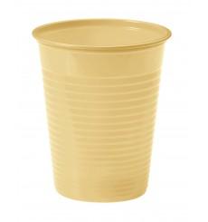 Bicchiere di Plastica Crema PS 200ml (1500 Pezzi)