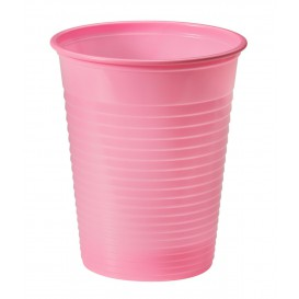 Bicchiere di Plastica PS Rosa 200ml Ø7cm (1500 Pezzi)