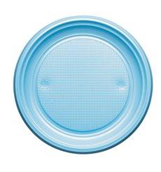 Piatto di Plastica Piano Blu Scuro PS 170mm (1100 Pezzi)