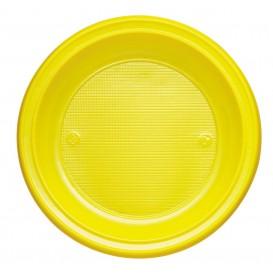 Piatto di Plastica Fondo Blu Scuro PS 220mm (30 Pezzi)