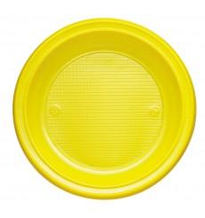 Piatto di Plastica Fondo Blu Scuro PS 220mm (600 Pezzi)