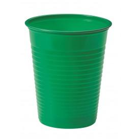 Bicchiere di Plastica PS Verde 200ml Ø7cm (1500 Pezzi)