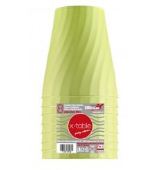"""Bicchiere di Plastica PP """"X-Table"""" Lime 320ml (128 Pezzi)"""