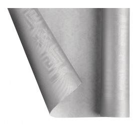 Tovaglia di Carta Rotolo Argento 1,2x7m (1 Pezzi)