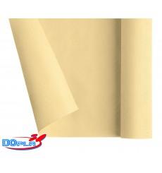 Tovaglia di Carta Rotolo Crema 1,2x7m (25 Pezzi)