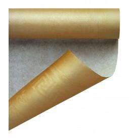 Tovaglia di Carta Rotolo Oro 1,2x7m (25 Pezzi)