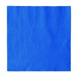 Tovagliolo di Carta 2 Velis Azzurro 33x33cm (50 Pezzi)