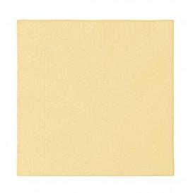 Tovagliolo di Carta 2 Velis Crema 33x33cm (50 Pezzi)