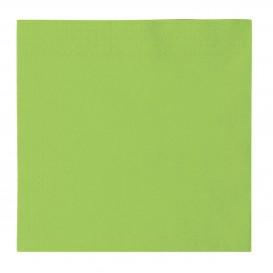 Tovagliolo di Carta 2 Velis Verde Acido 33x33cm (50 Pezzi)