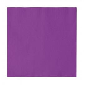 Tovagliolo di Carta 2 Velis Viola 33x33cm (1200 Pezzi)