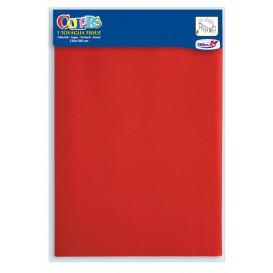 Tovaglietta di Carta Rosso 1,2x1,8m (24 Pezzi)