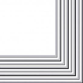 Tovagliolo di Carta 2 Velis Argento 33x33 cm (20 Pezzi)