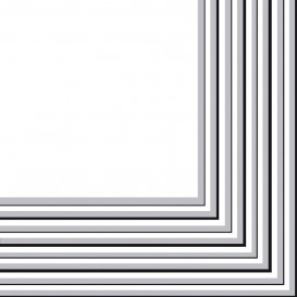 Tovagliolo di Carta 2 Velis Argento 33x33 cm (480 Pezzi)