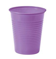 Bicchiere di Plastica PS Lille 200ml Ø7cm (50 Pezzi)