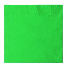Tovagliolo di Carta 2 Velis Verde 33x33cm (50 Pezzi)