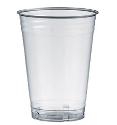 Bicchiere PLA Bio Trasparente 250ml Ø7,3cm (50 Pezzi)
