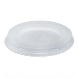 Coperchio di Plastica PS Bianco per Bicchiere 200/250ml Ø7,2cm (100 Pezzi)