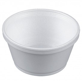 Coppette Termici EPS Bianco 8OZ/240ml Ø11cm (50 Pezzi)