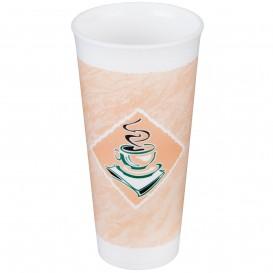 """Bicchiere Termici EPS """"Café"""" 24Oz/710 ml Ø9,4cm (20 Pezzi)"""