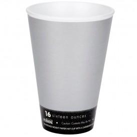 "Bicchiere Termici Fusion ""Steele"" 16Oz/473ml Ø9,4cm (25 Pezzi)"