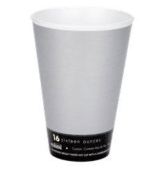 "Bicchiere Termici EPS ""Fusion"" Grigio 16Oz/473ml Ø94mm (1000 Pezzi)"