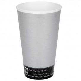 "Bicchiere Termici Fusion ""Steele"" 20Oz/600ml Ø9,4cm (500 Pezzi)"