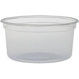 """Contenitore di Plastica PP """"Deli"""" 12Oz/355ml Trasp. Ø120mm (500 Pezzi)"""