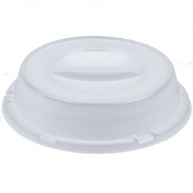 Copertura Alta Plastica PS Semitrasparente Ø240mm (500 Pezzi)
