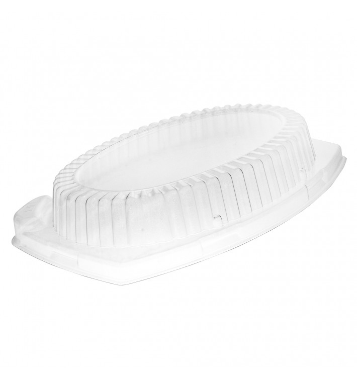 Coperchio di Plastica Trasparente per Vassoi 280x220mm (500 Pezzi)