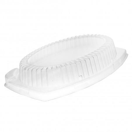 Coperchio di Plastica Trasparente per Vassoi 230x180mm (500 Pezzi)