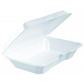 Contenitori EPS Lunchbox Bianco 230x150X65mm (100 Pezzi)