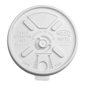 "Coperchio di plastica PS ""Lift n' Lock"" Ø  (100 Pezzi)"
