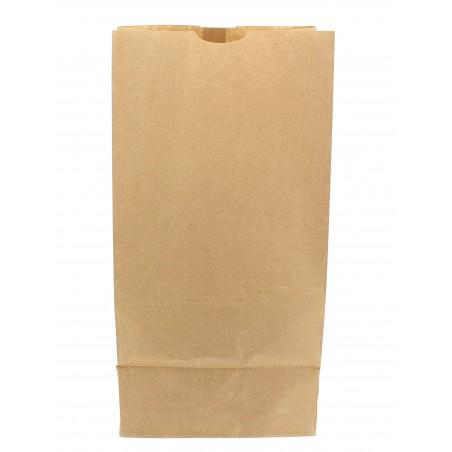 Bolsa de Papel Sin Asas Kraft 18+12x29cm (1000 Unidades)