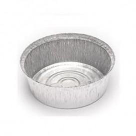 Contenitore in Alluminio 1900ml Circolari per Pollo (125 Pezzi)