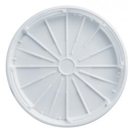 Copertura Plastica PS Pizza Bianco 320mm (100 Pezzi)