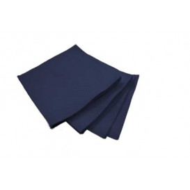 Tovagliolo di Carta Cocktail Blu 20x20cm (100 Pezzi)
