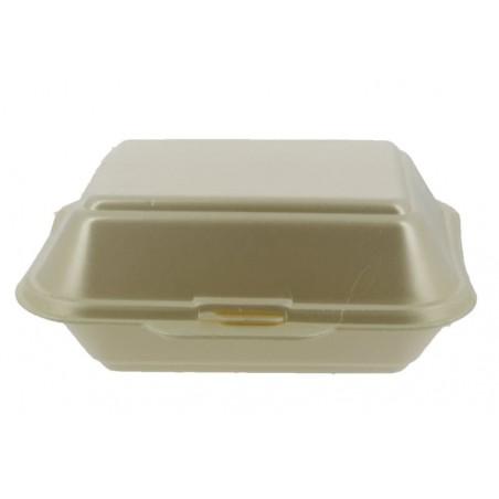 Contenitori Polistirolo Lunchbox Champagne 185x155x70mm (500 Uds)